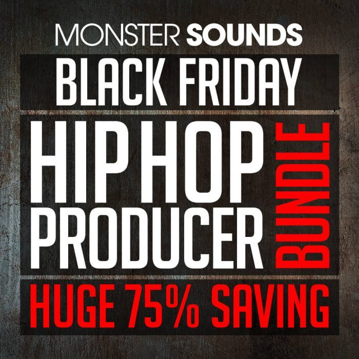 Monster Sounds Hip Hop Producer Bundle