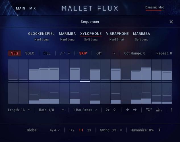 NI Mallet Flux Ensemble Sequencer
