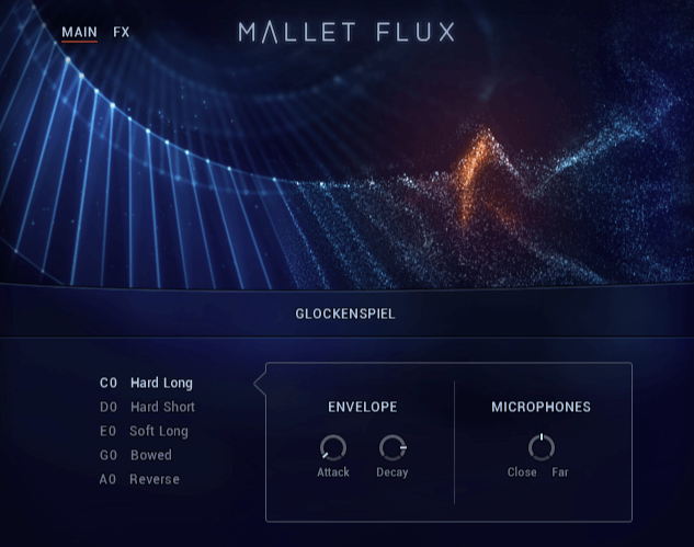 NI Mallet Flux Single Main Page