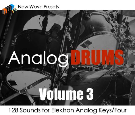 New Wave Presets Analog Drums Vol 3