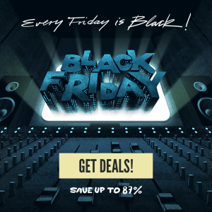 Plugin Alliance Black Friday 2018 one