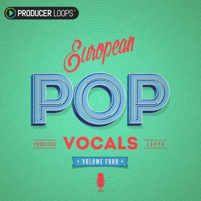 Producer Loops European Pop Vocals Vol 4