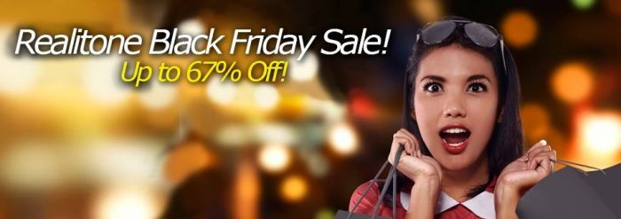 Realitone Black Friday Sale