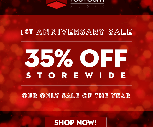 Red Room Audio Anniversary Sale