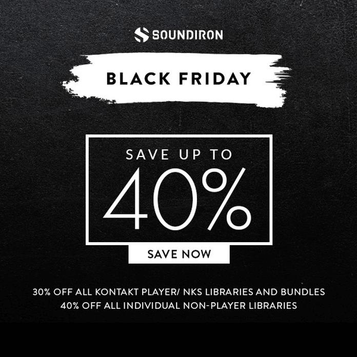 Soundiron Black Friday 2018