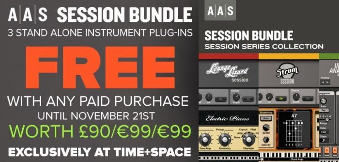 TimeSpace AAS Session Bundle exclusive