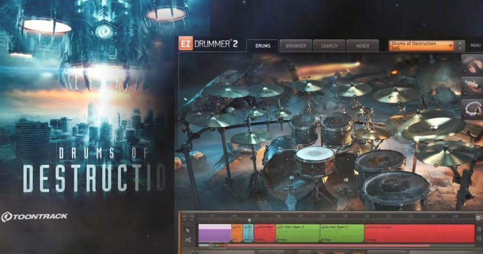 Toontrack Drums of Destruction EZX feat