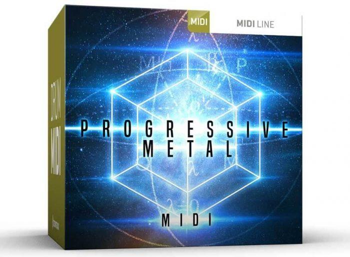 Toontrack Progressive Metal MIDI pack