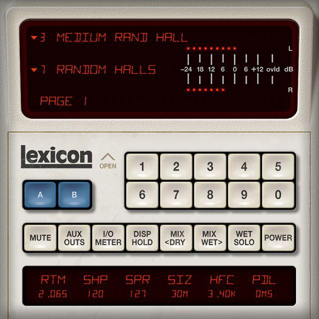 UAD Lexicon 480L Reverb plugin