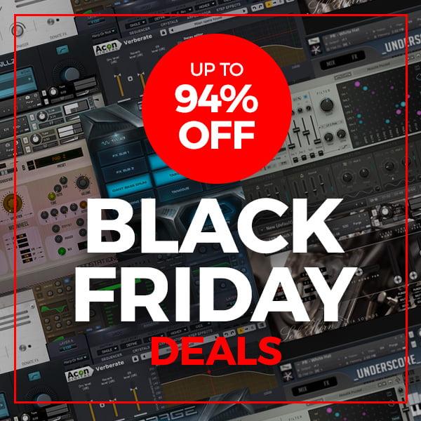 VST Buzz Black Friday Deals