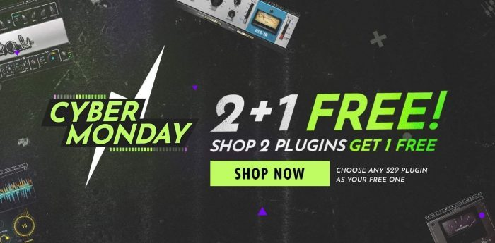 Waves Audio Cyber Monday 2018