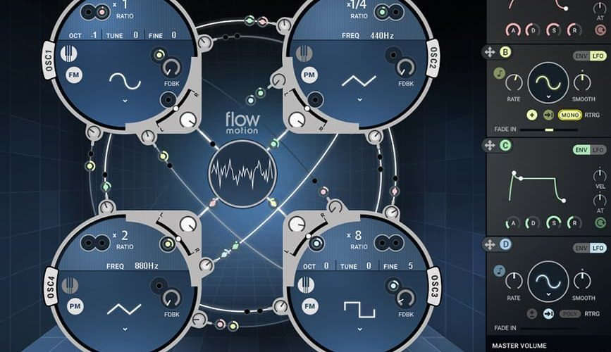 Waves Audio Flow Motion FM Synth