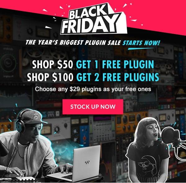 Waves Black Friday Sale