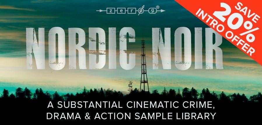 Zero-G Nordic Noir intro sale
