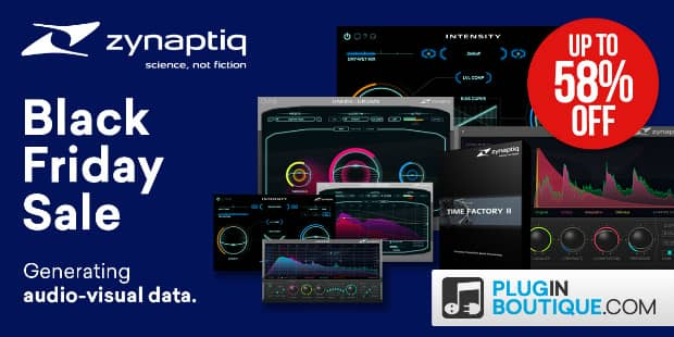 Zynaptiq Black Friday