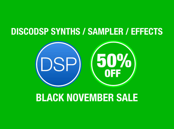 discodDSP Black November Sale