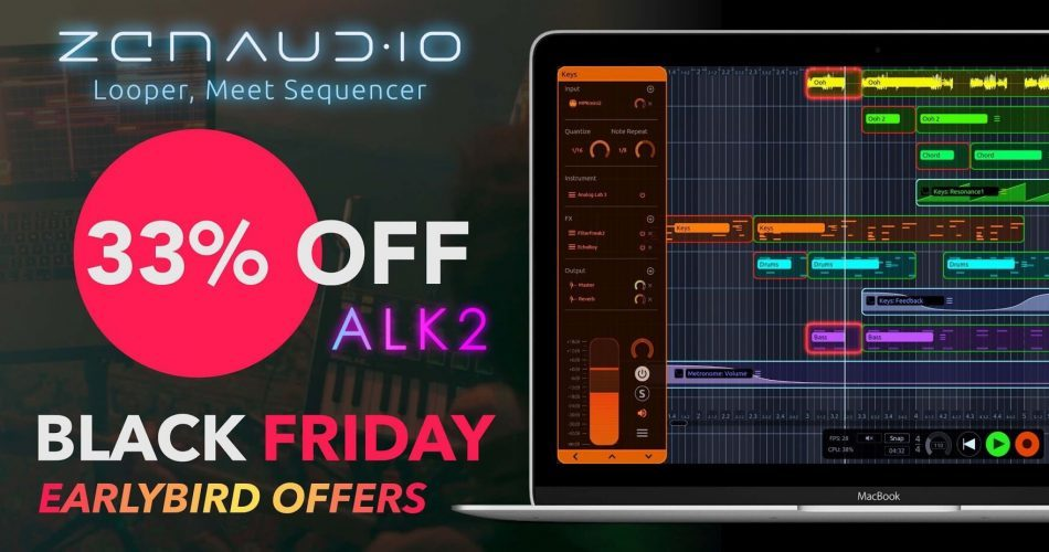 zenAudio Black Friday