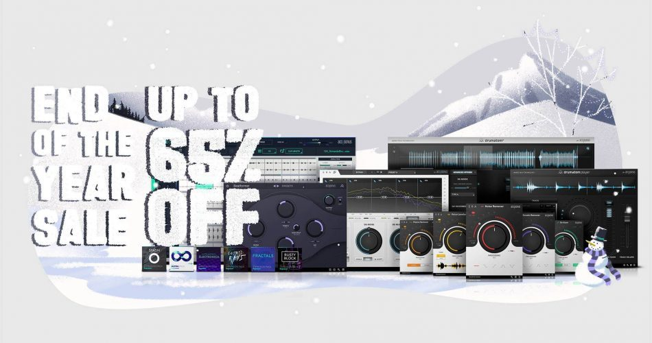 Accusonus End Of Year Sale 2018