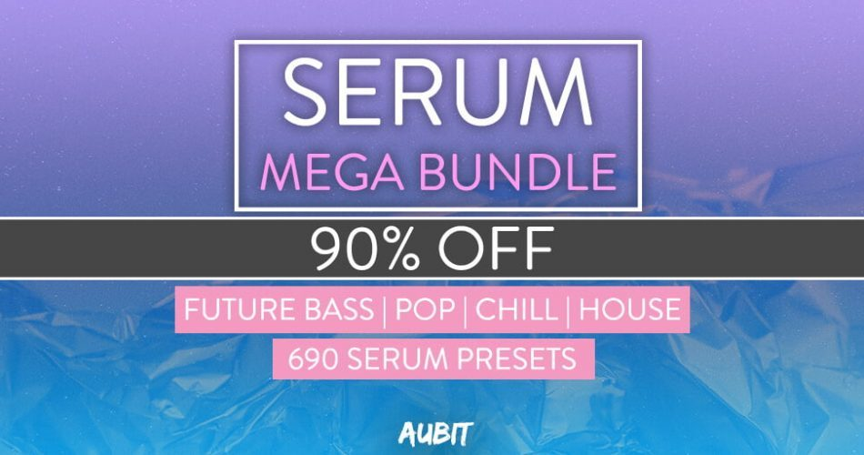Aubit Serum Mega Bundle 90% OFF