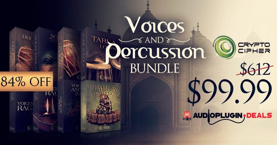Crypto Cypher Voices and Percussion Bundle