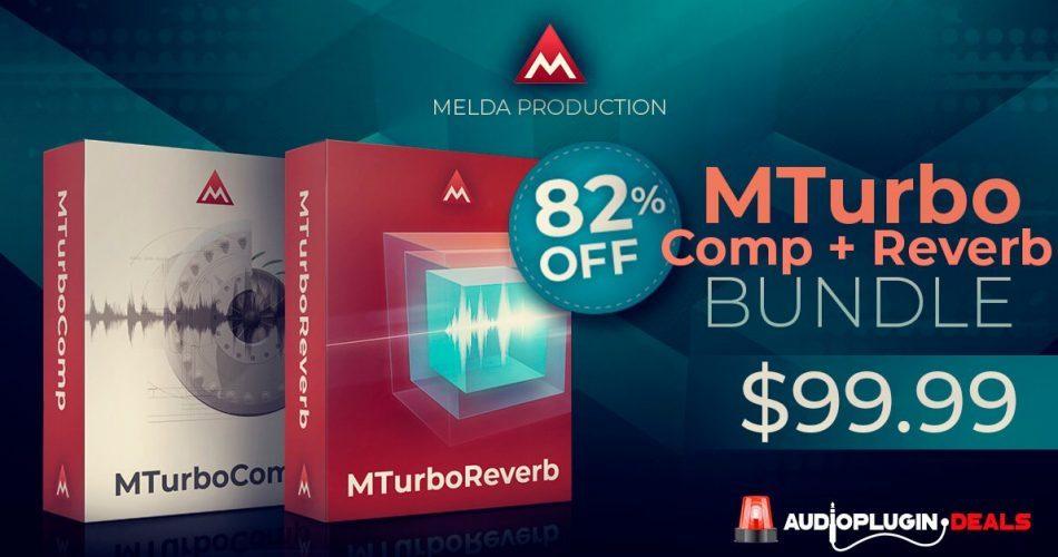 Meldaproduction MTurboComp & MTurboReverb Bundle