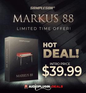 Audio Plugin Deals Sampleson Markus 88
