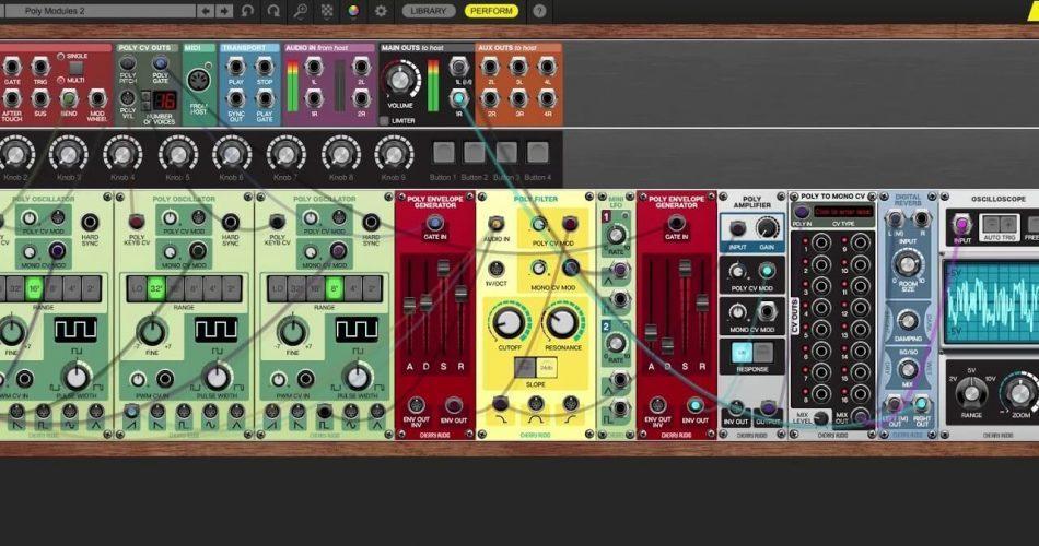 Cherry Audio Voltage Modular update