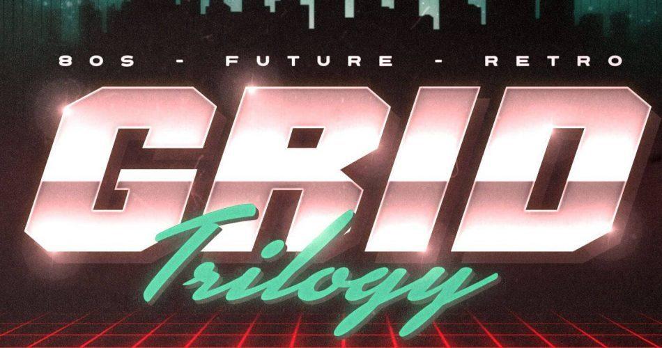 F9 Audio Grid Trilogy 80s Future Retro