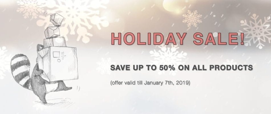 Fluffy Audio Holiday Sale 2018
