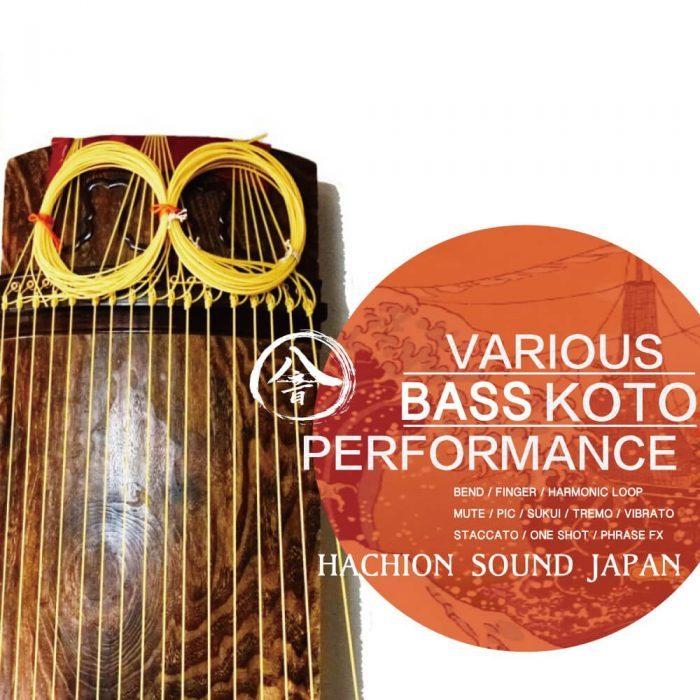 Hachion Sound 17 String Koto