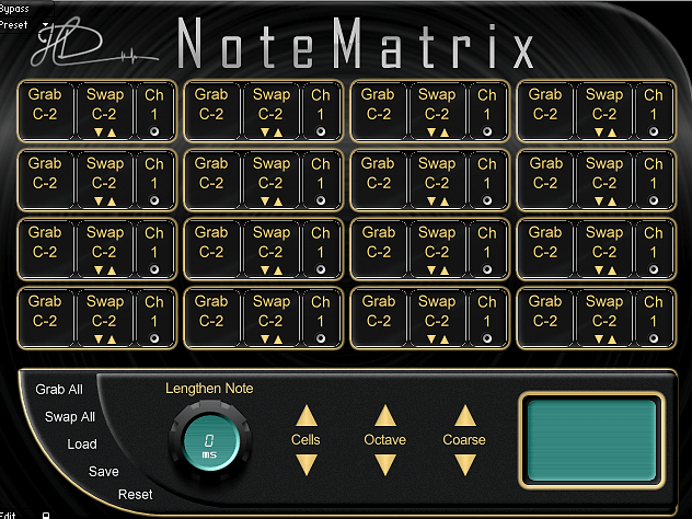 Hagai Davidoff NoteMatrix