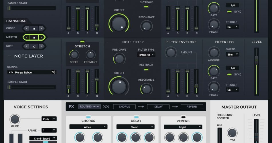 Loopmasters Khords Interface