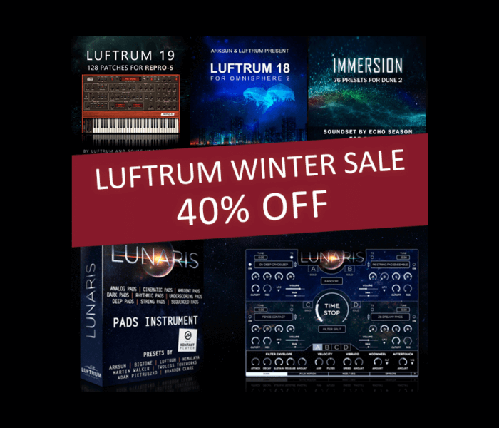 Luftrum Winter Sale 2018