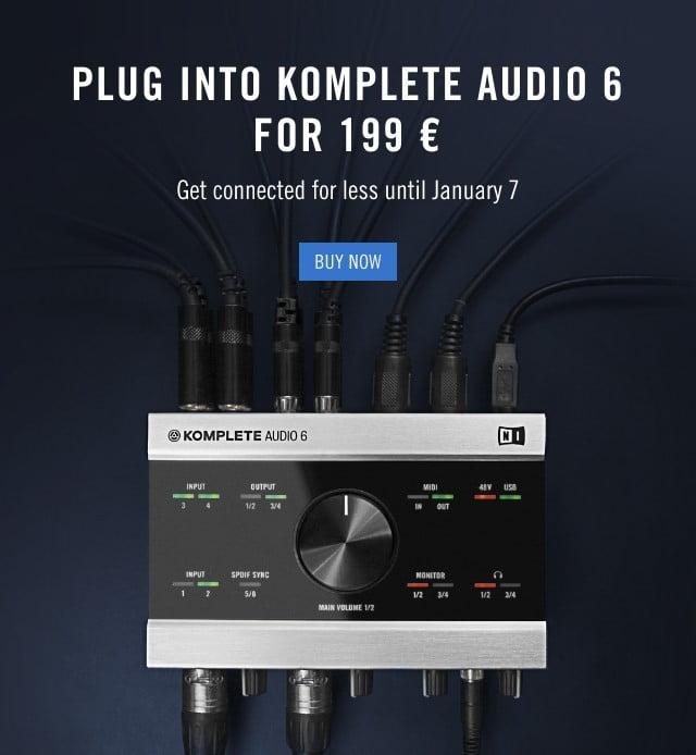 NI Komplete Audio 6 Sale