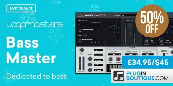 PIB Loopmasters Bass Master 50 OFF