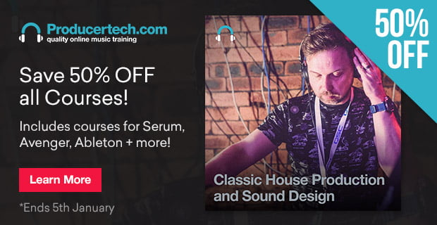 Producertech HolidaySale PluginBoutique