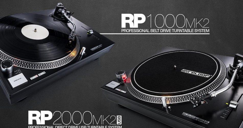Reloop RP-1000 & RP-2000 MK2