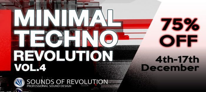 SOR Minimal Techno Revolution Vol 4 Sale