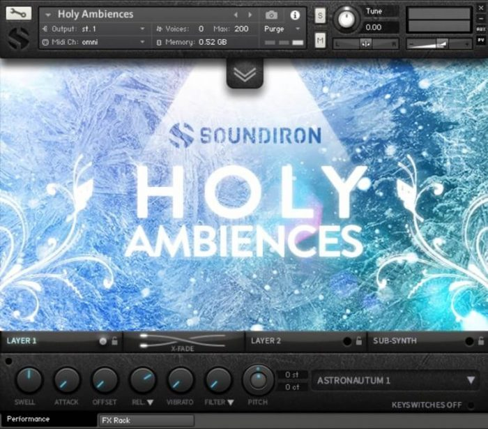 Soundiron Holy Ambiences 3