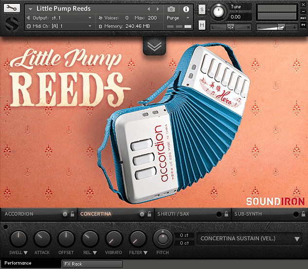 Soundiron Little Pump Reeds 2