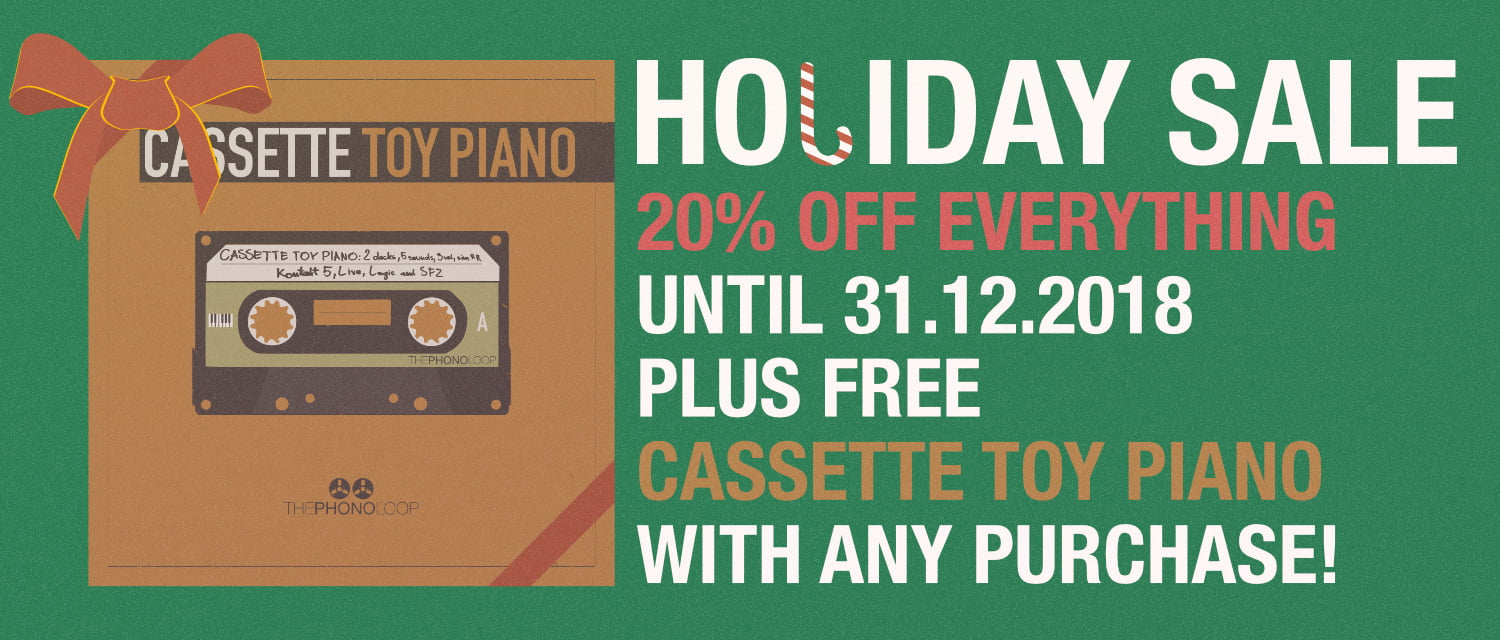 THEPHONOLOOP 2018 Holiday Sale: Save 20% OFF + Free Cassette