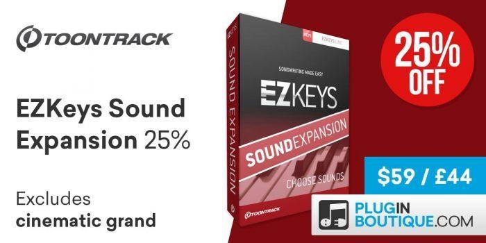 Toontrack EZkeys Sound Expansion sale
