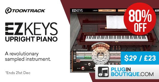 Toontrack EZkeys Upright Piano Sale