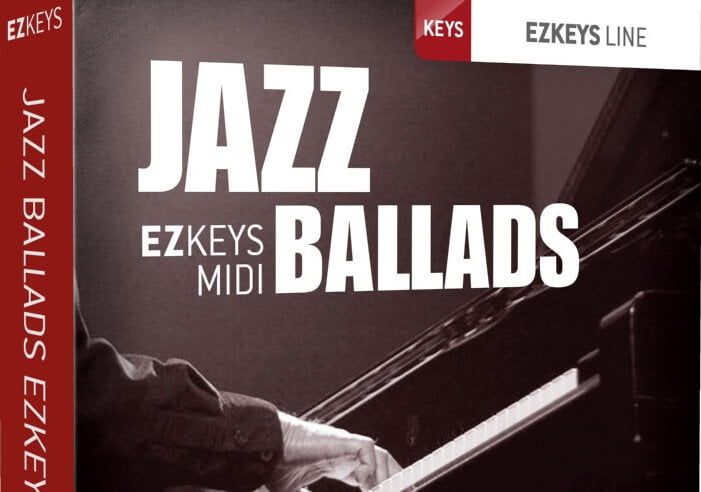 Toontrack Jazz Ballads EZkeys MIDI
