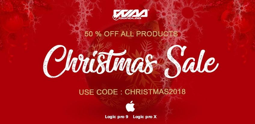 WaaSoundLab Christmas Sale
