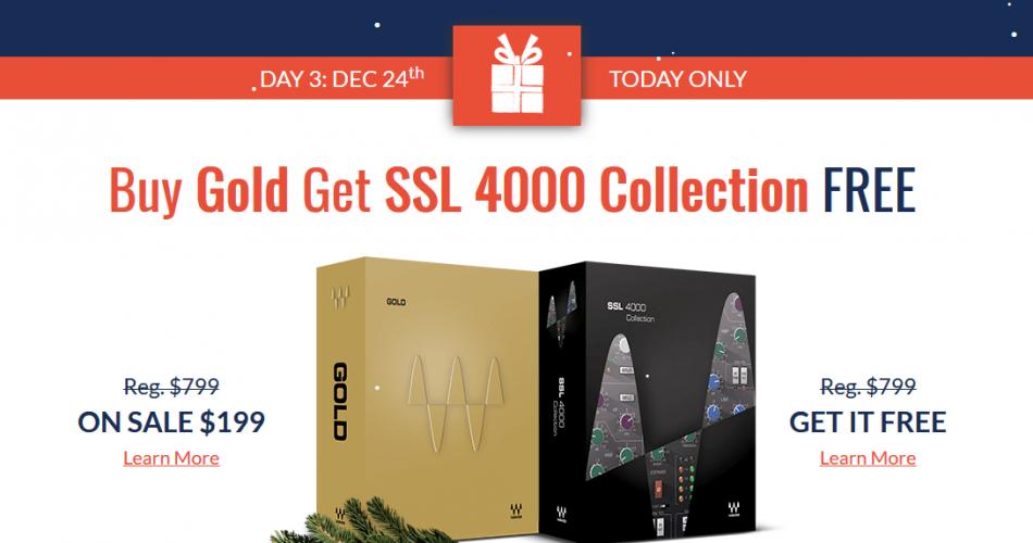 Waves Audio Gold SSL 4000 deal