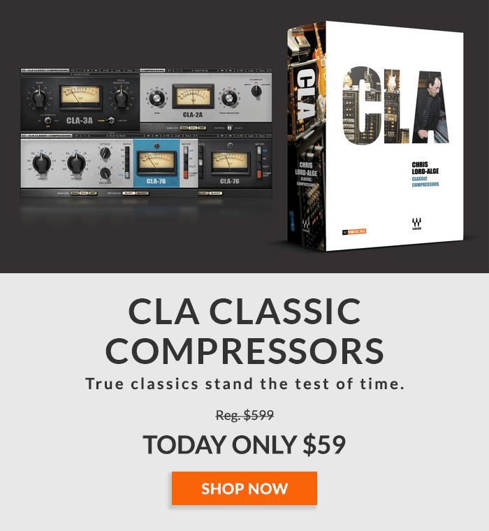 Waves CLA Classic Compressors Sale 59