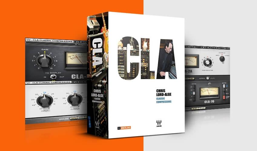 Waves CLA Classic Compressors feat
