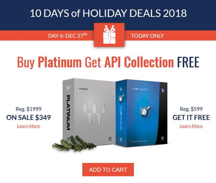 Waves Platinum API Collection FREE