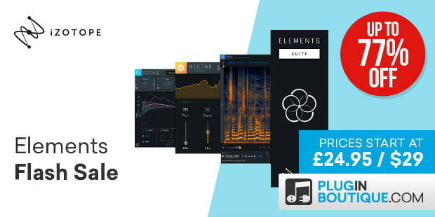 iZotope Elements Sale PIB